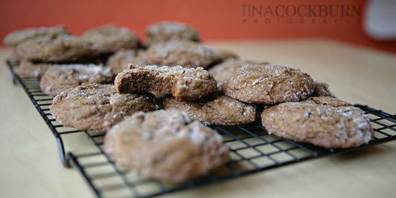 Molasses cookies small