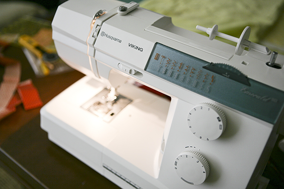 New sewing machine small