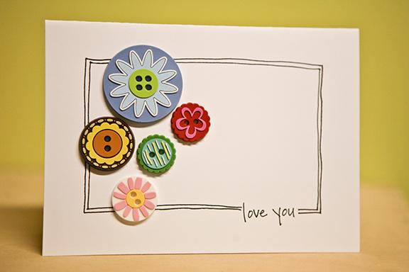 Love you sketch card