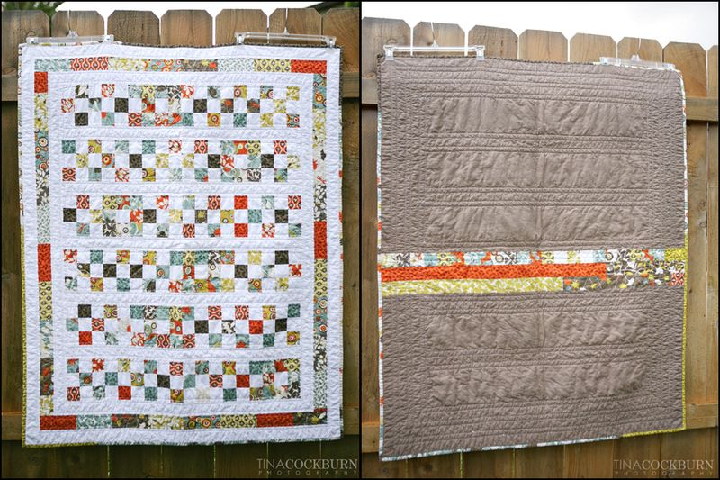 E quilt collage
