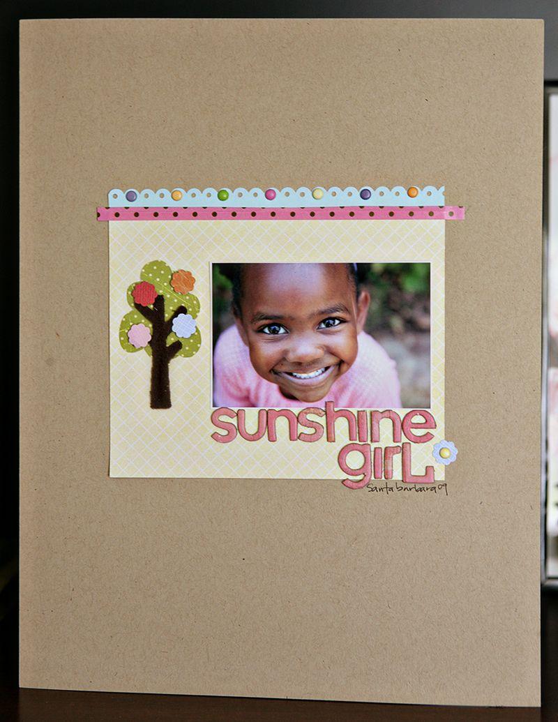 Sunshine girl SU summer mini 2010